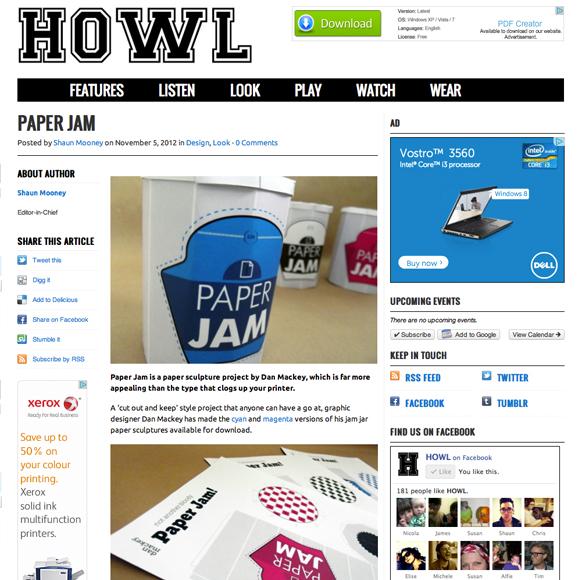 Howl Blog