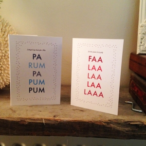 Good Typography Christmas Card 2014
