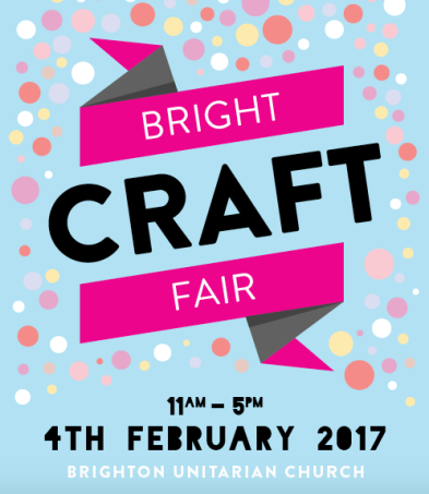 Brighton Bright Craft Fair event