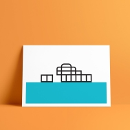 Minimalistic West Pier