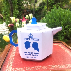 Royal wedding china Prince Harry tea pot