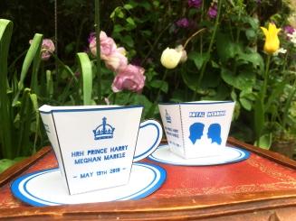 Royal wedding tea cup 2018
